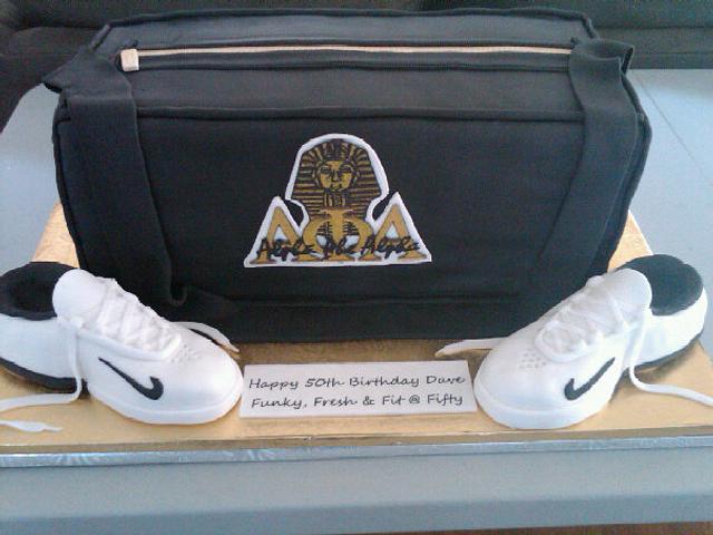 Alpha Phi Alpha gym bag