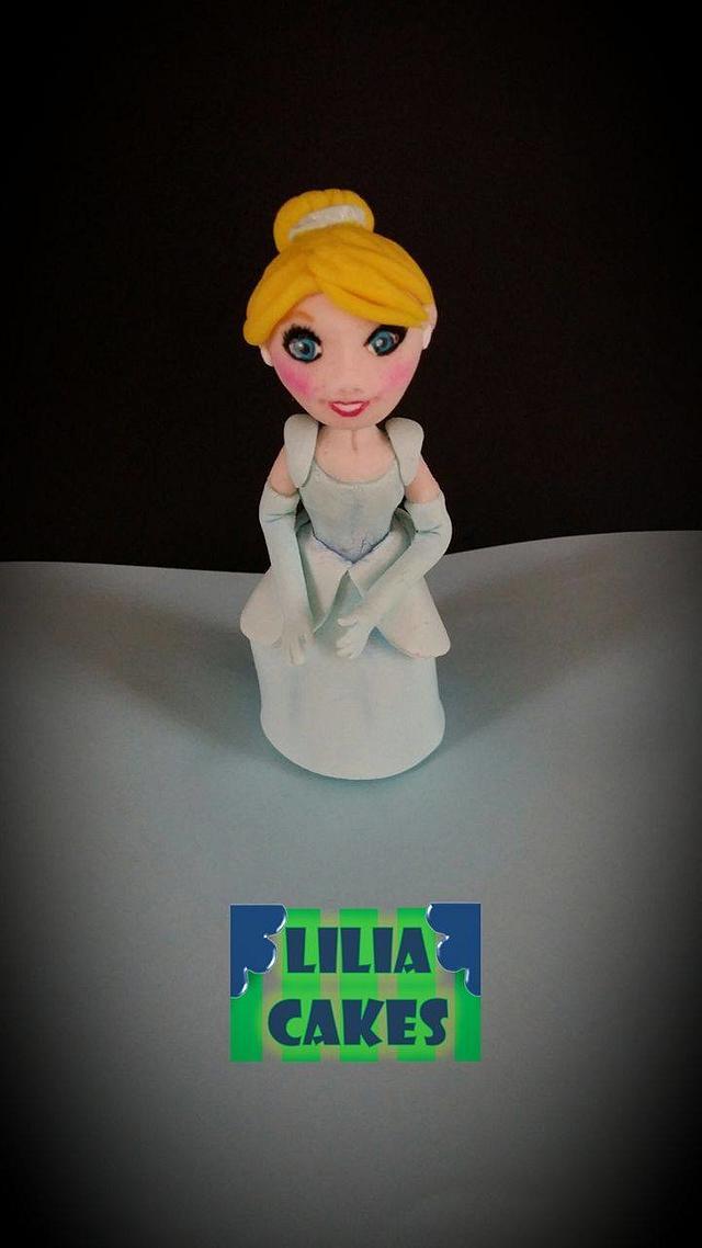 Cinderella Cake topper and more..