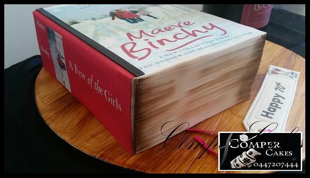 Bottle cake , Book cake