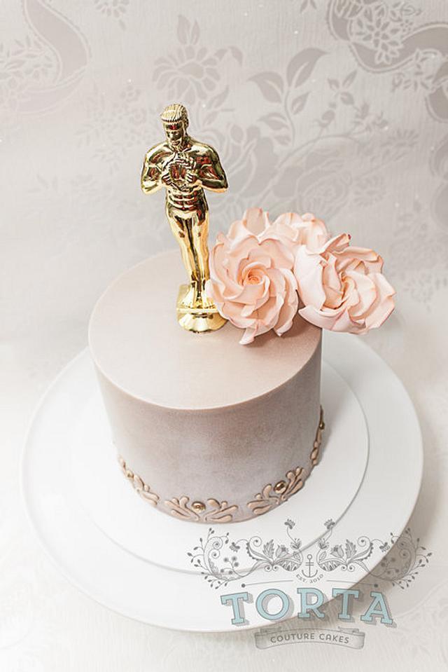 Oscar Birthday Cake