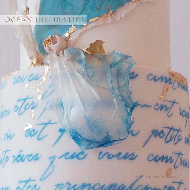 ocean inspiration cakes
