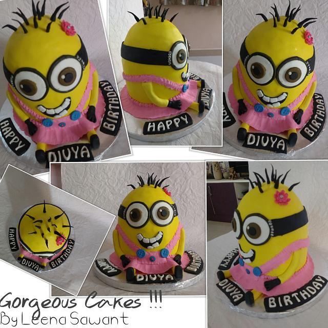 3D Minions Cake !