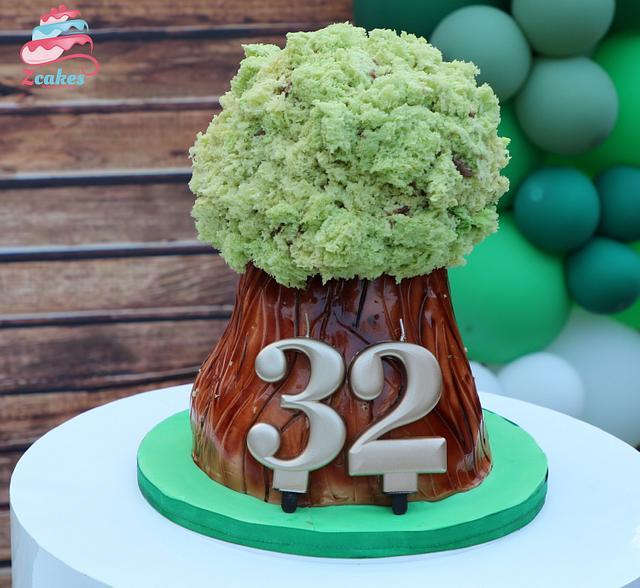 3D Tree cake