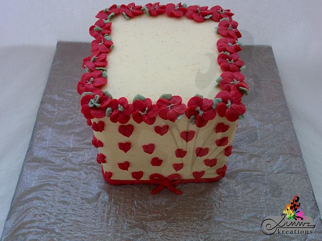 Buttercream Flowers With Love