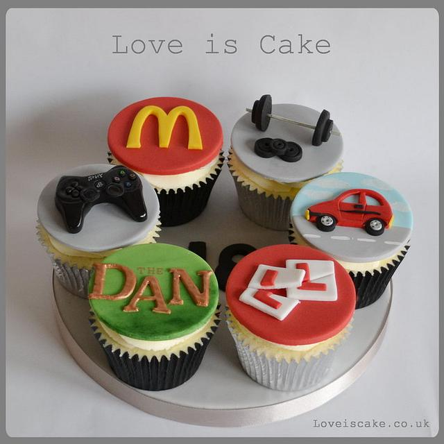 18th Birthday cupcakes. A year in the life of......