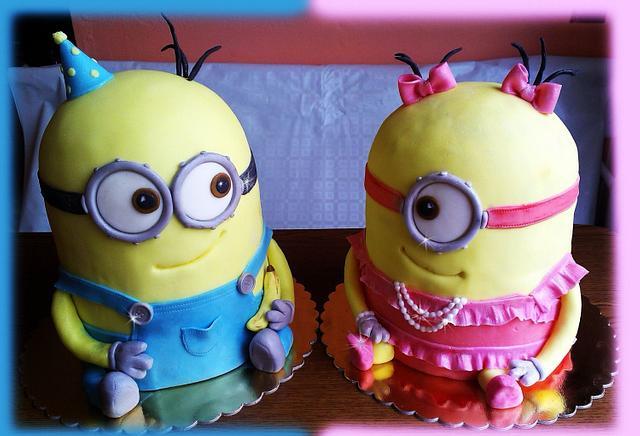 Minions - he and she :-)