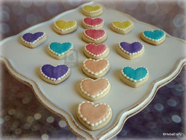 Valentine cookie set #2