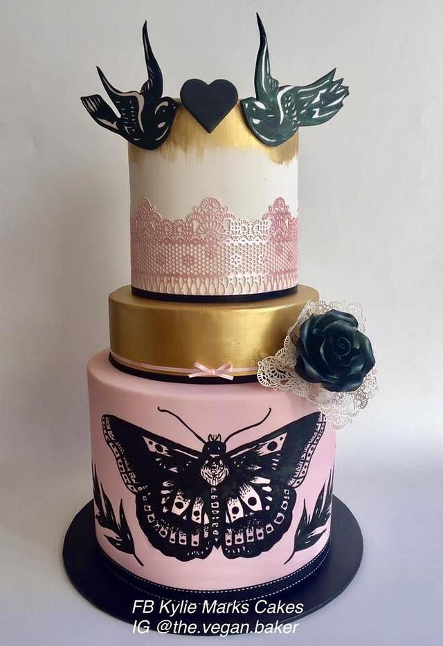 Prime My Daughters 17Th Birthday Cake Harry Styles Tattoo Cakesdecor Personalised Birthday Cards Veneteletsinfo