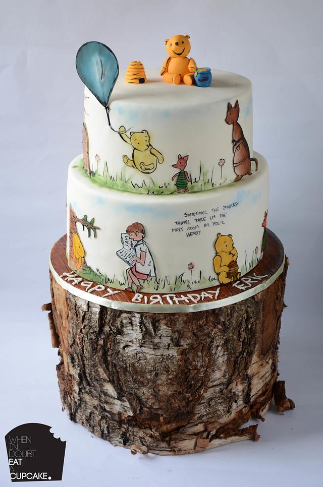 Vintage Winnie the Pooh cake