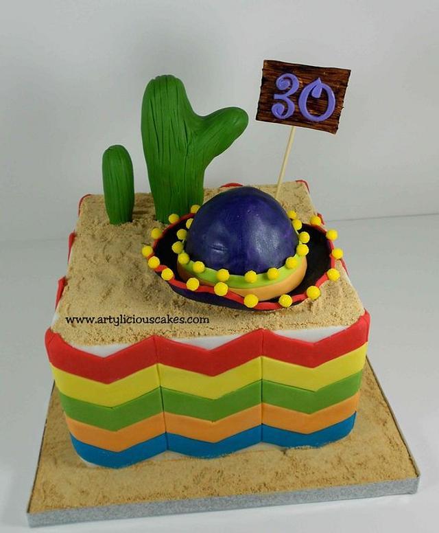 Fun Fiesta cake