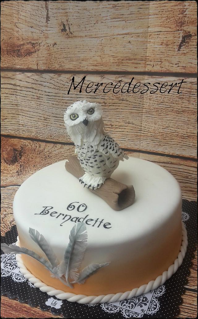 Harfang Owl cake