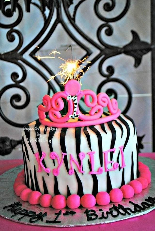 Zebra Princess ~ 1st Birthday
