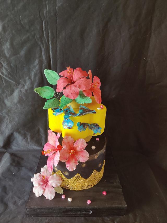 Hibiscus Cake