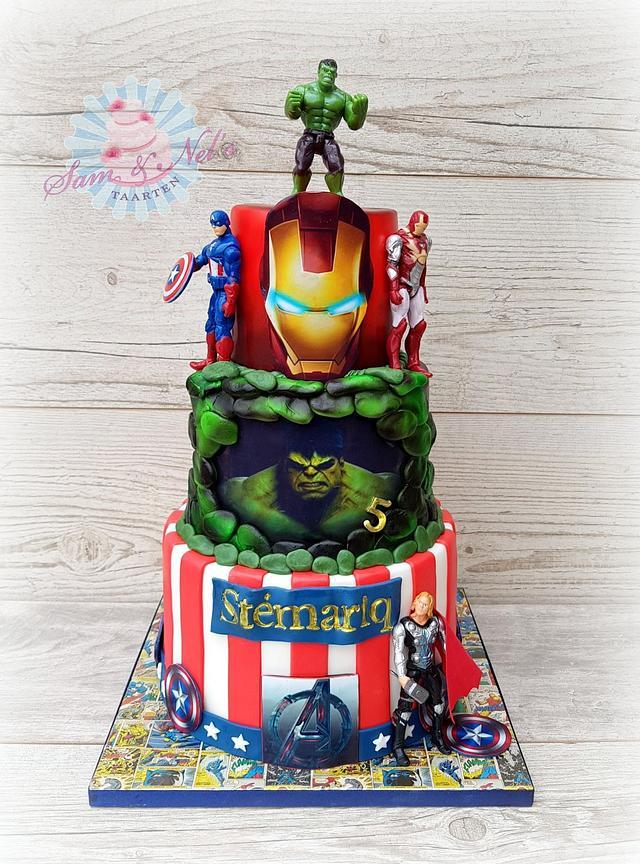 Marvel Superhero cakes