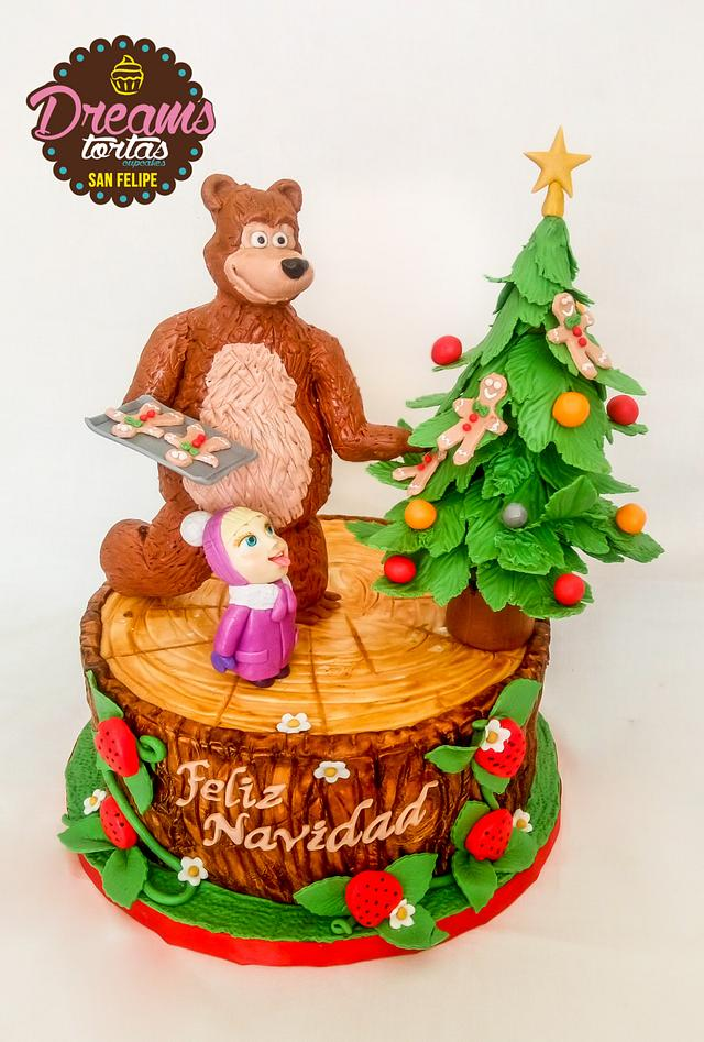 Dulce Navidad - Masha y el oso