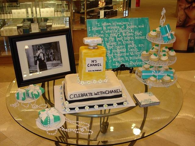 Chanel and Tiffany's Cake Event!