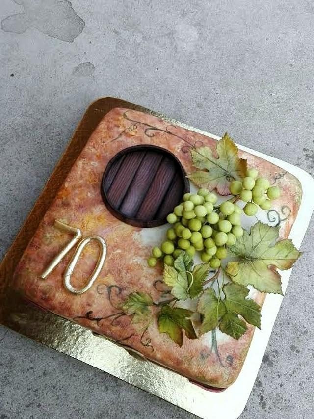 Cake for vine-dresser