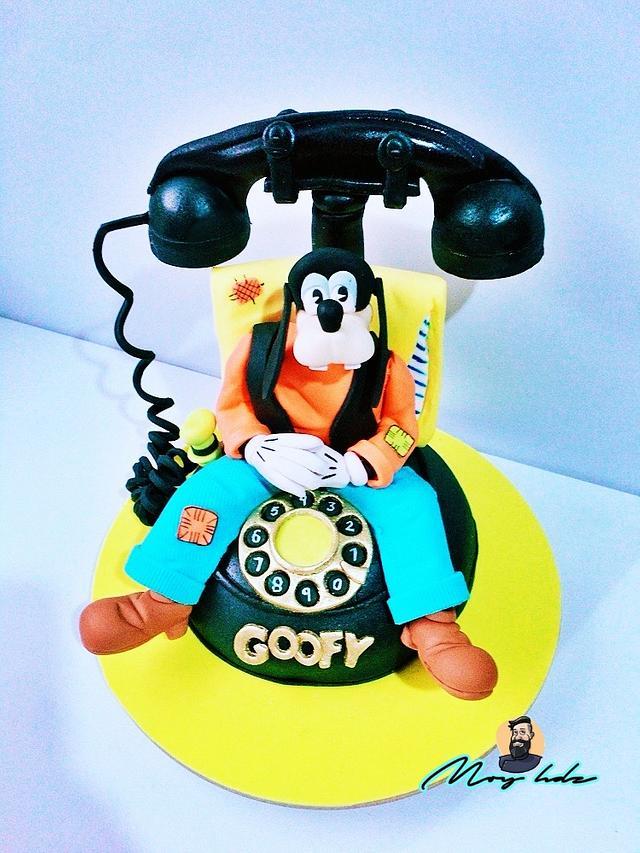 Goofy 3D Cake