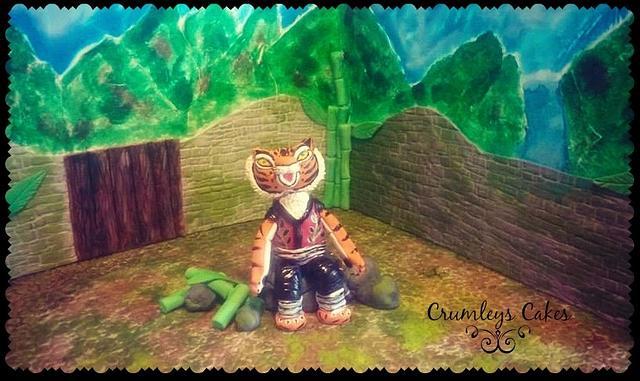 Tigress (kung fu panda 3 collaboration)