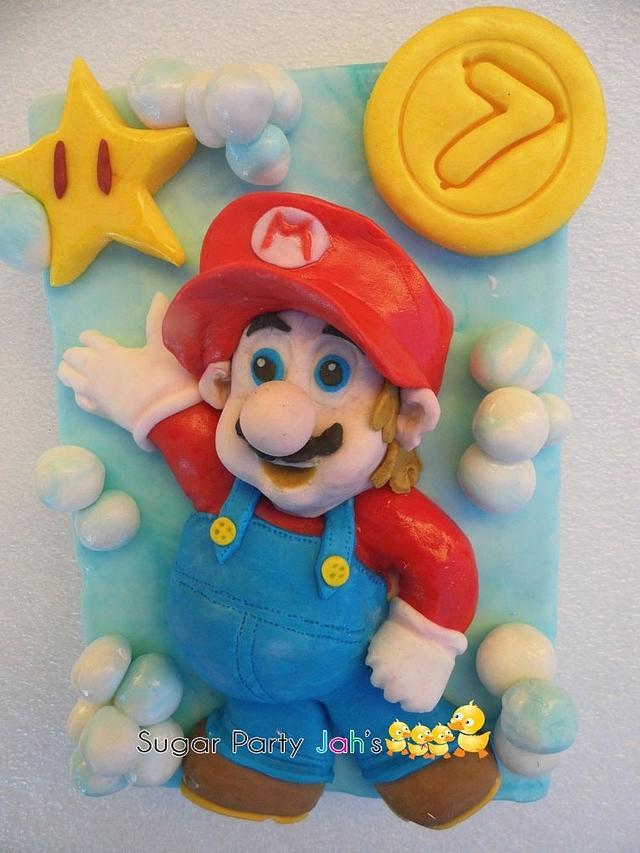 Mario bros topper