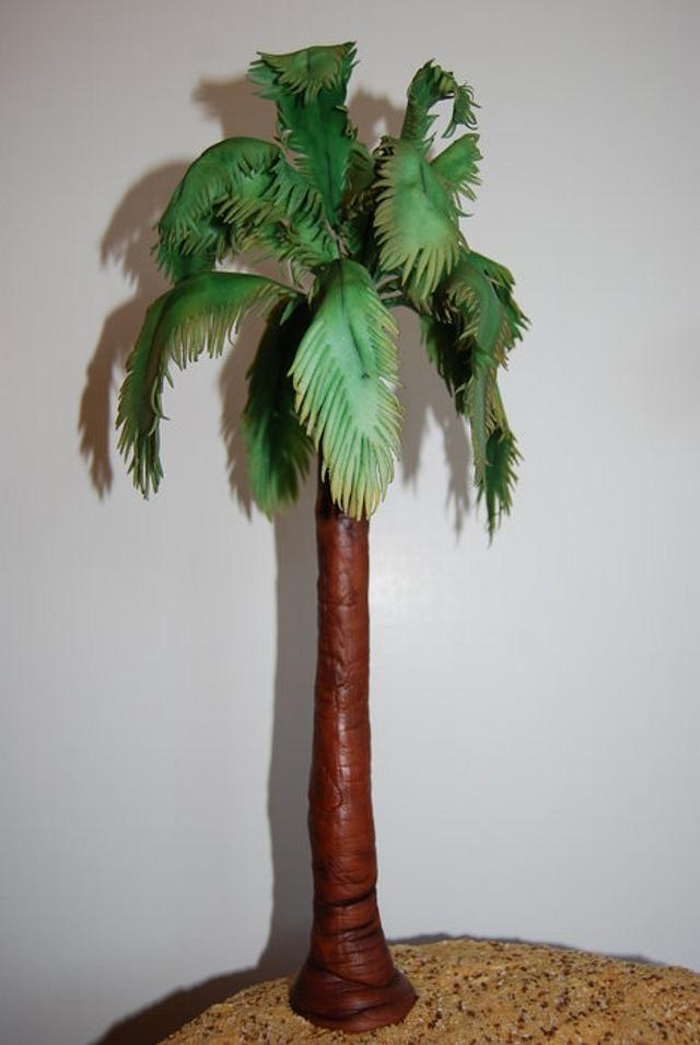 Palm Tree Cake
