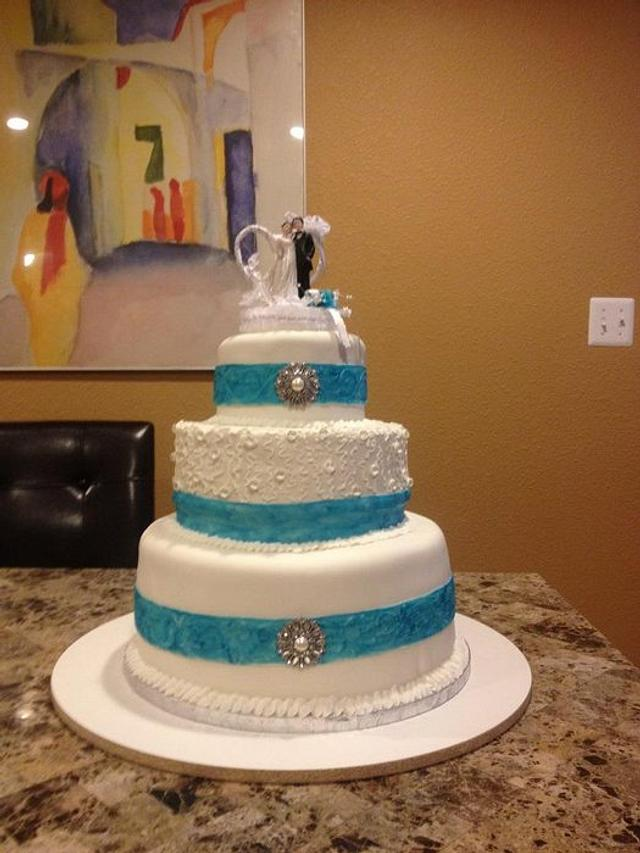 First wedding cake April 2012