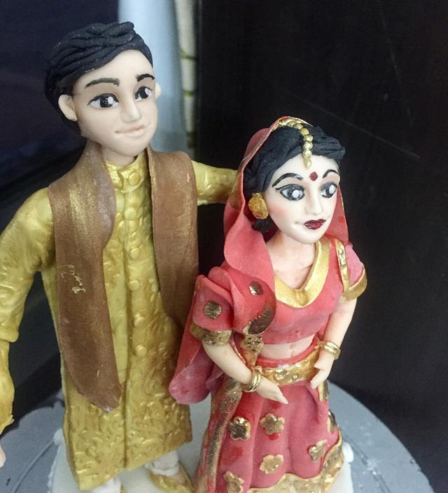 Indian couple topper