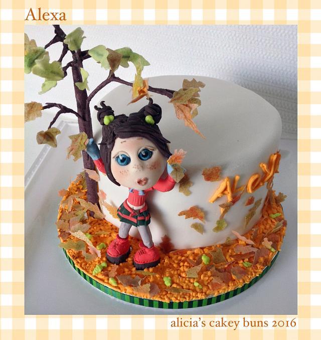 Little Alexa has a birthday