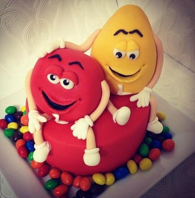Wondrous Mm Birthday Cake Cake By Missyclairescakes Cakesdecor Funny Birthday Cards Online Necthendildamsfinfo