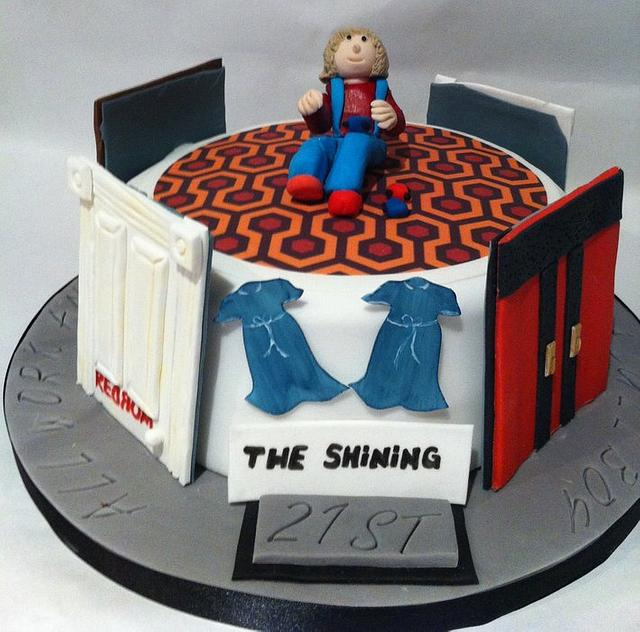 """The Shining"" cake"