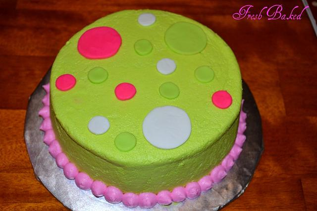 Dot cake