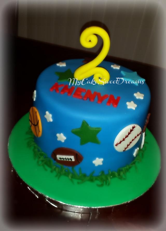 Wondrous All Sports Birthday Cake Cupcakes Cake By My Cake Cakesdecor Personalised Birthday Cards Akebfashionlily Jamesorg