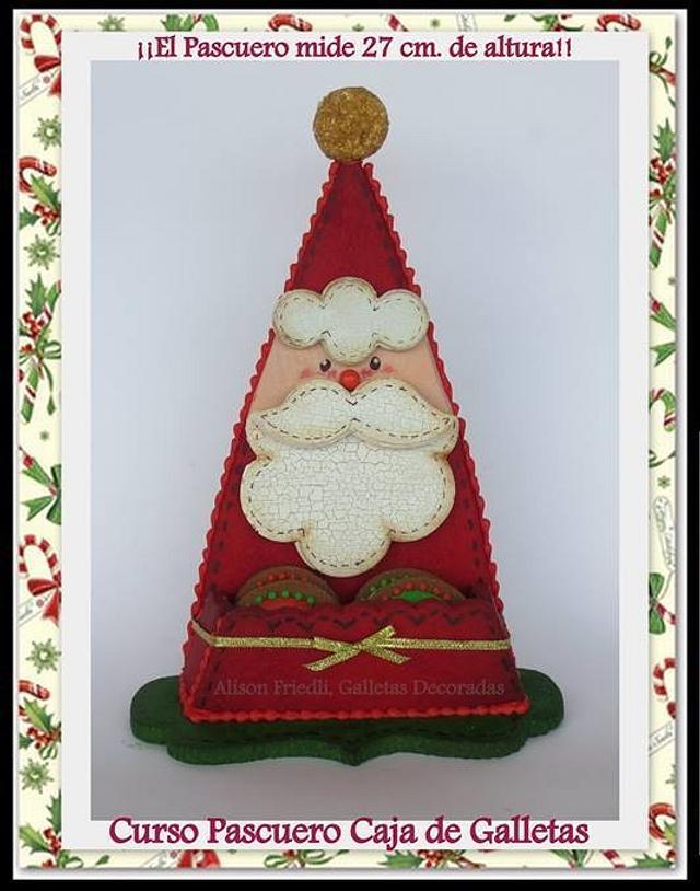 Santa Cookie Box