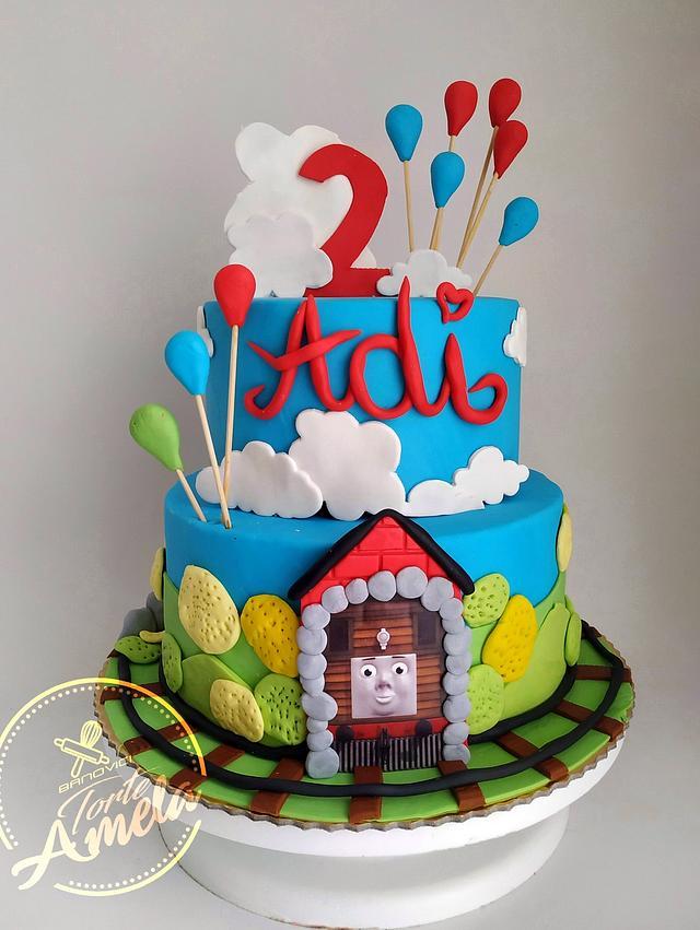 Adi's train cake