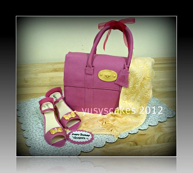 Murberry Bag Cake