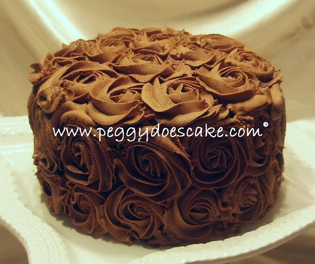 More Chocolate Roses Cake