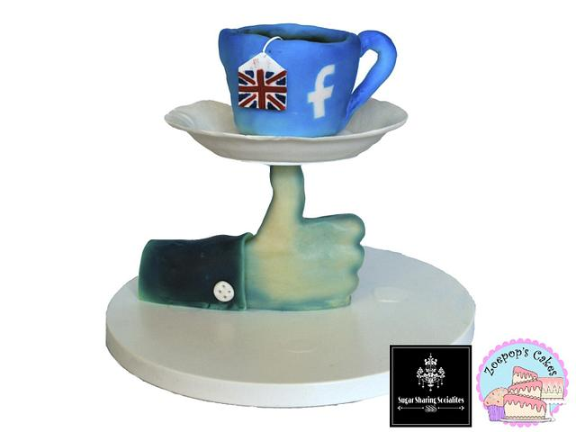 A facebook like for a British cuppa SSS collaboratio.
