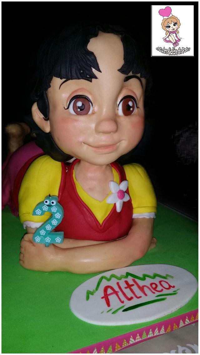 HEIDI 3D CAKE
