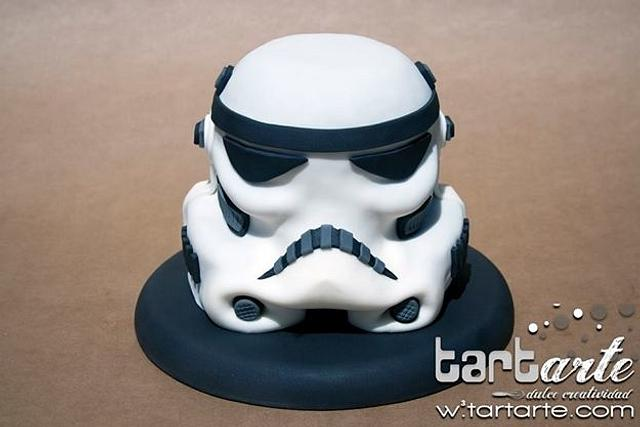 Stormtrooper / Star Wars Cake