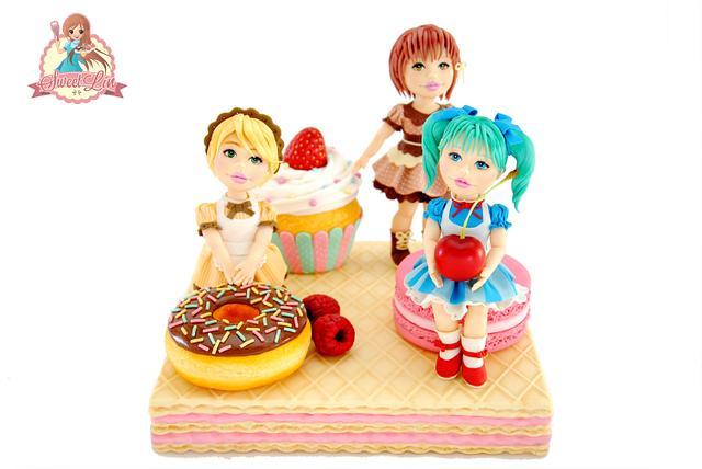 Sweets Girls - Cake International London 2016