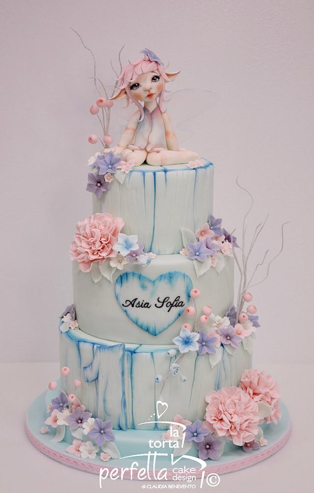 Fairy Forest - Fairy Baby Cake