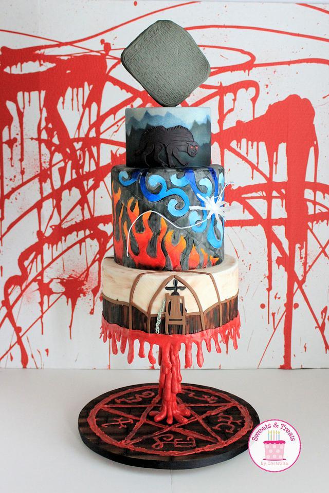 Supernatural Cake Collaboration Season 8