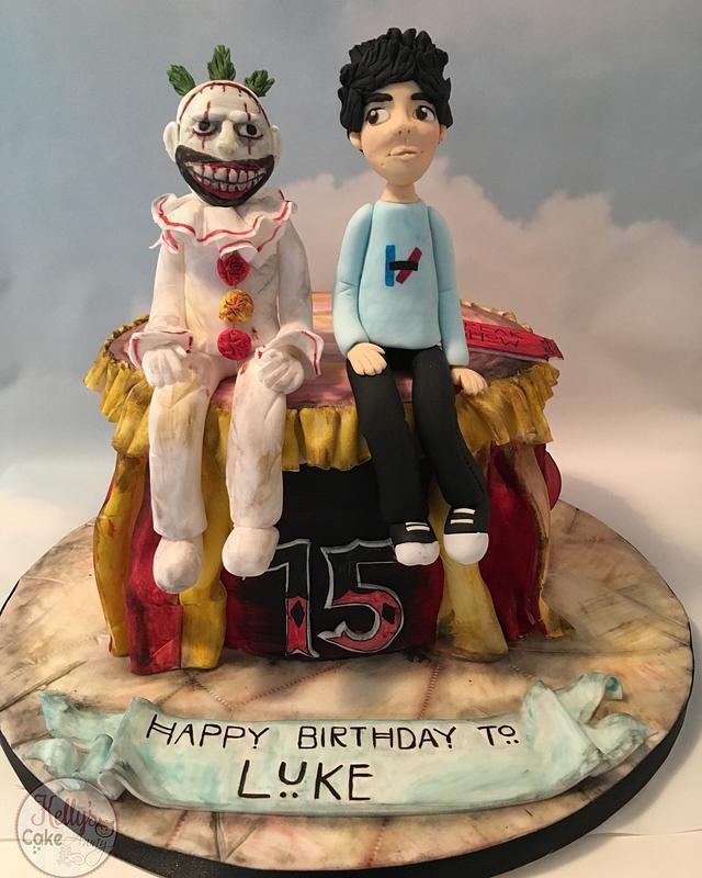 American Horror Story- Twisty the Clown