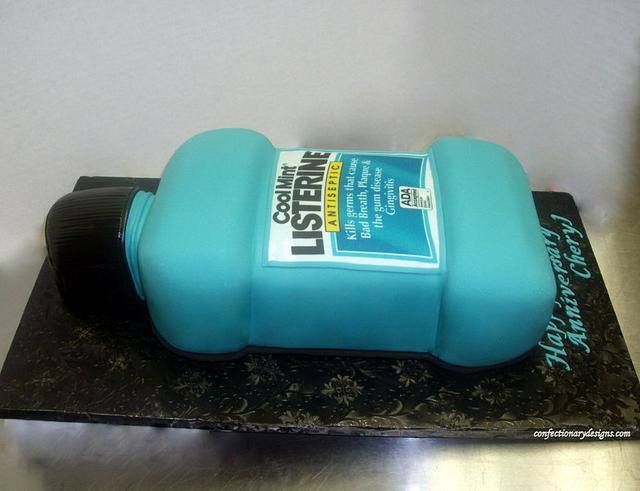 Listerine Bottle Cake