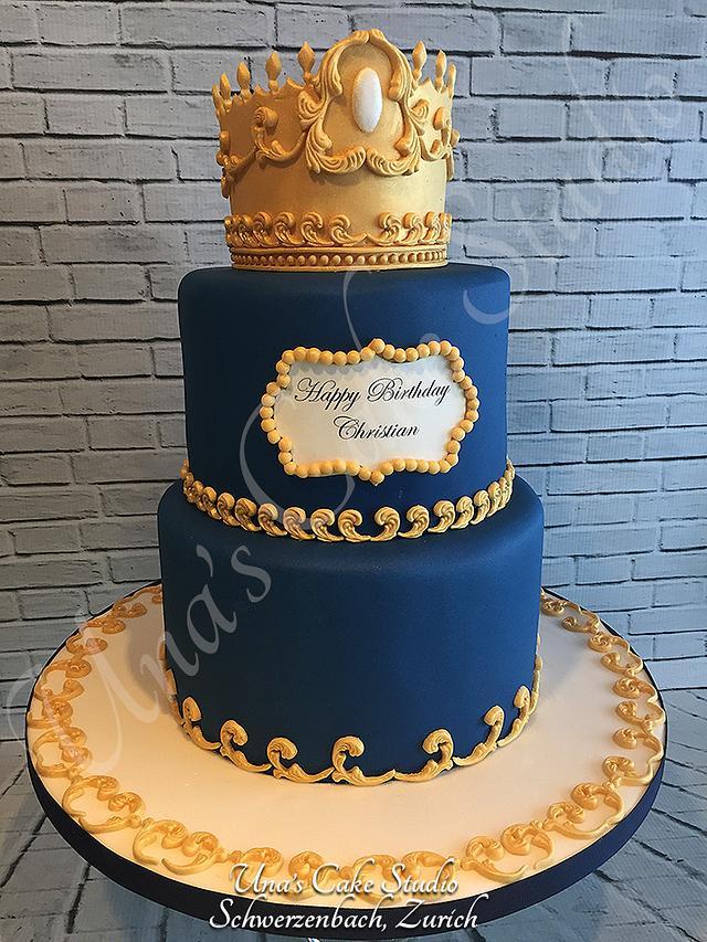 Terrific Little Prince Birthday Cake Cake By Unas Cake Studio Cakesdecor Funny Birthday Cards Online Inifofree Goldxyz