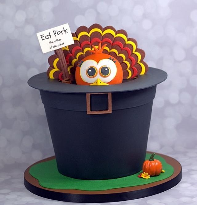 Hiding Thanksgiving Turkey