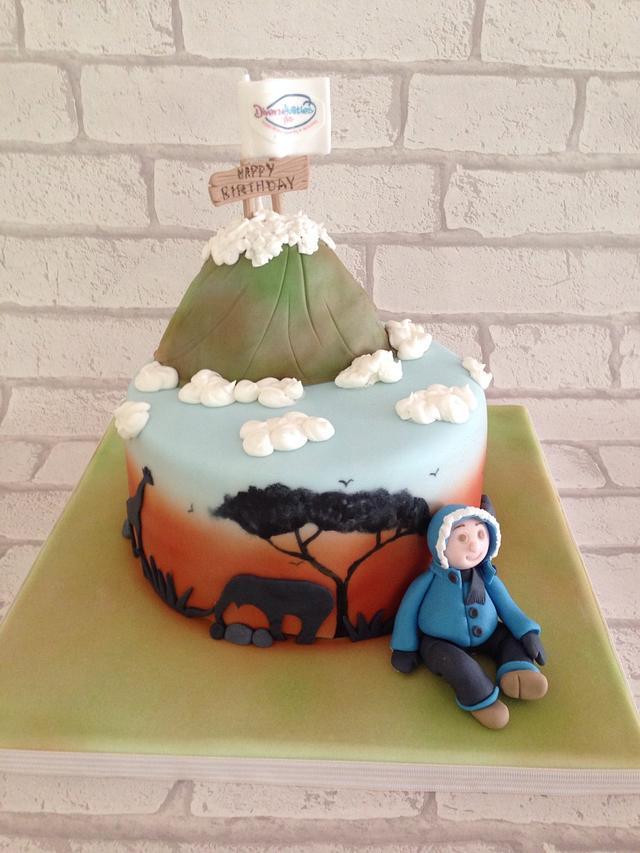 Kilimanjaro cake