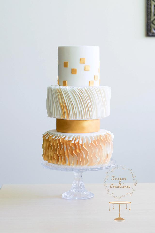 Couture Cakers Collaboration - Georges Chakra Inspiration