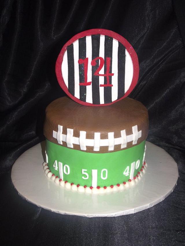 Football Cake!