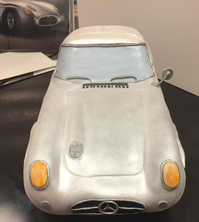 Mercedes 300SL 1955 - 3D Cake